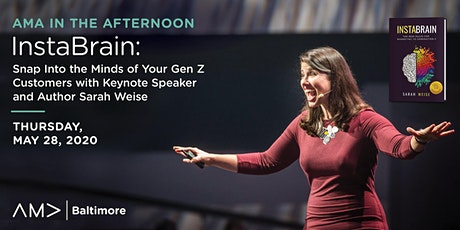 AMA in the Afternoon: InstaBrain - Snap Into the Minds of Your Gen Z Customers tickets