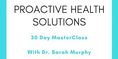 ProActive Health Solutions MasterClass tickets