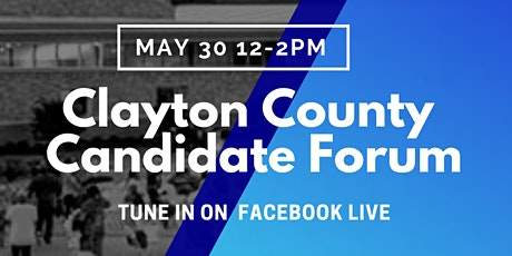 Clayton County Democrats Candidate Forum tickets