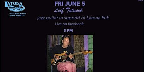 Leif Totusek live for Latona Pub tickets