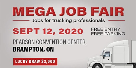 MEGA JOB FAIR EVENT BRAMPTON, ON - 2020 tickets