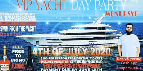 supreme team July 4th yacht party tickets