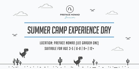 2020 Summer Boot Camp - Coding & Science Experience Day | Preface Nomad Junior tickets