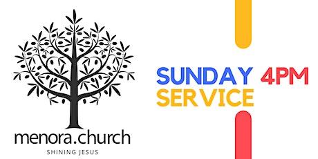 MENORA CHURCH SUNDAY 4 PM SERVICE tickets