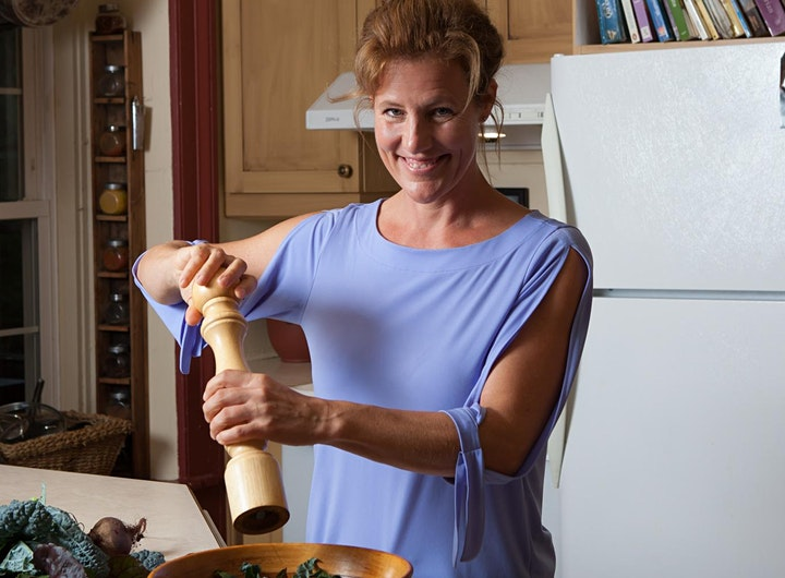 Making Healthy Delicious; online cooking workshop image