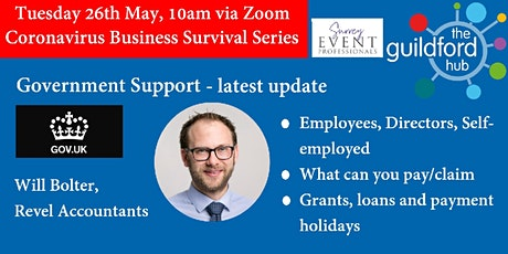 Coronavirus Business Survival - Government Help - an update tickets