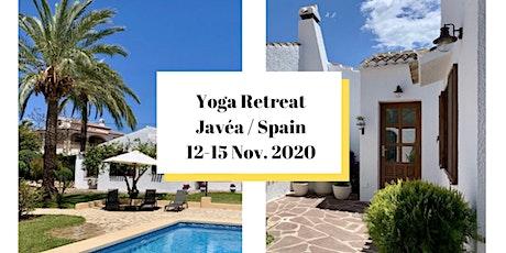 Séjour Yoga &  Bien-Être à Javéa, Espagne Tickets
