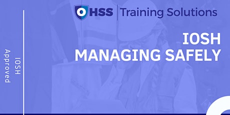 IOSH Managing Safely - 3 Day Training | Widnes tickets