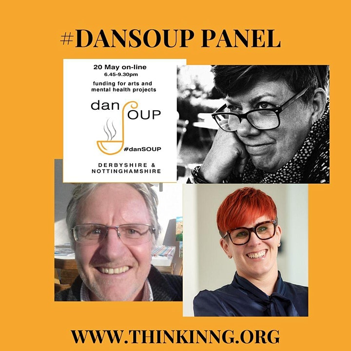 #danSOUP: online pitch night for arts & mental health image