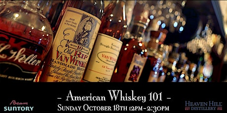 The Roosevelt Room's Master Class Series - American Whiskey 101 tickets