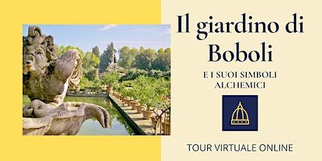 Il giardino di Boboli e i suoi simboli alchemici biglietti