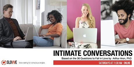 Slow Dating - Intimate Conversations [Online ] tickets