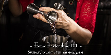 The Roosevelt Room's Master Class Series - Home Bartending101 tickets
