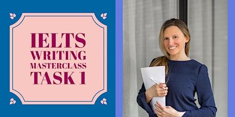 IELTS WRITING MASTERCLASS | TASK 1 + individual task correction biglietti