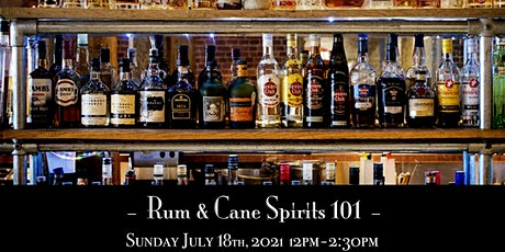 The Roosevelt Room's Master Class Series - Rum & Cane Spirits101 tickets