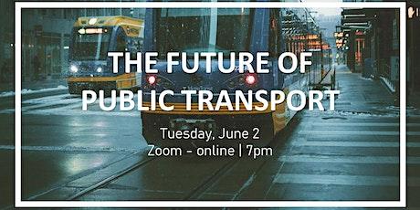 The Future of Public Transport- June Climate Cafe biglietti
