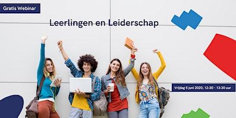 Leerlingen en Leiderschap webinar tickets