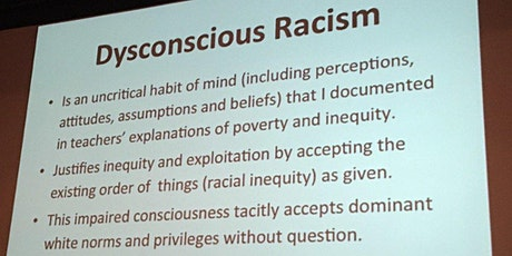 Black Education for Liberation: Beyond Dysconscious Racism tickets
