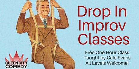 Drop In Improv Class! tickets