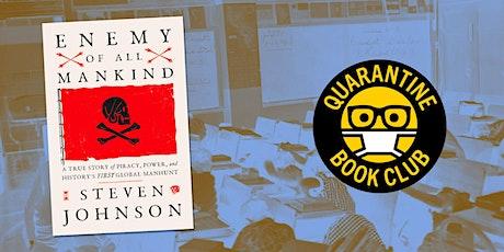 Quarantine Book Club — Steven Johnson tickets