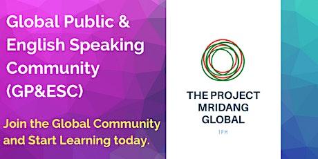 Online||Global Public Speaking & English-Speaking Community(GP&ESC) tickets
