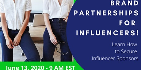Brand Partnerships for Influencers tickets