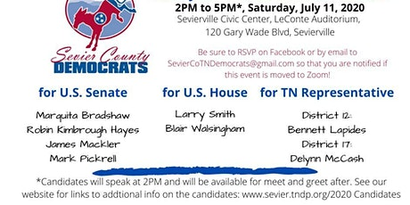 Democratic Candidate Meeting & Greet tickets