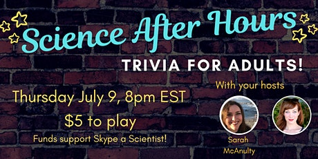 Science After Hours Trivia with Alie Ward tickets