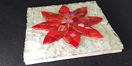 Garden Flower Mosaic Workshop 6/20/2020 tickets