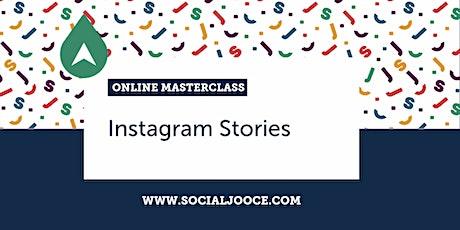 Instagram Stories | Online Masterclass tickets