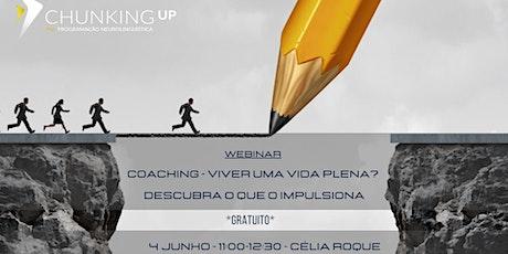 Webinar - Coaching - Descubra o seu Talento! bilhetes