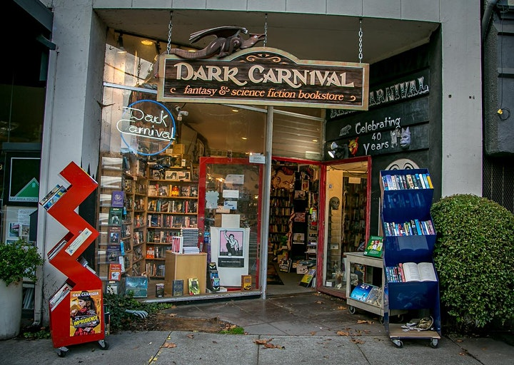 John Scalzi, Sarah Gailey and Michael Zapata for Dark Carnival image