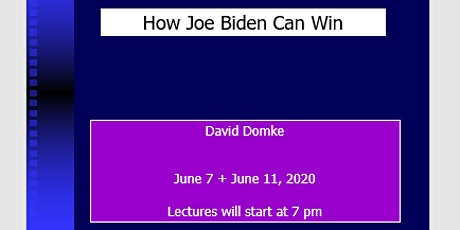 HOW JOE BIDEN CAN WIN tickets
