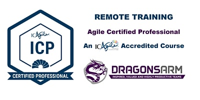 DragonsArm ICAgile 2-Day Certified Professional Remote Training June 8-9