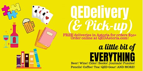 Online Sale Pick Up & Delivery - Beer, Wine, Puzzles, Games, Books & More! tickets