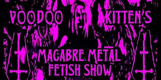 Lilian Sin's Macabre Metal Fetish Online Show