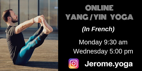 Online Yang & Yin yoga (in French) tickets