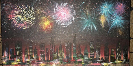Paint & Sip @ the Studio - Fireworks tickets