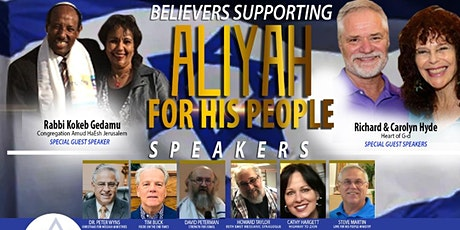 Aliyah For His People Event tickets