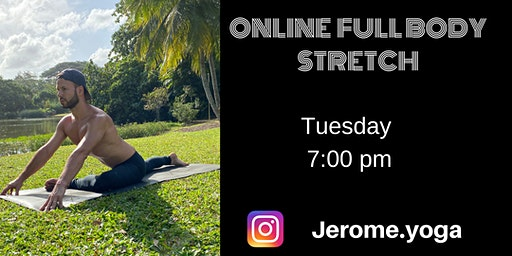 Online Full body stretch with Zoom