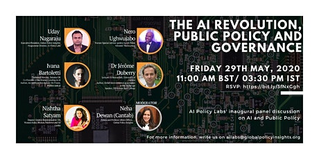 THE AI REVOLUTION, PUBLIC POLICY AND GOVERNANCE tickets