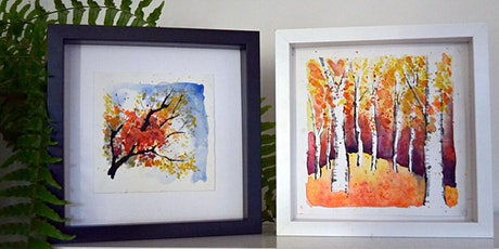 Watercolour Autumn Landscapes Online tickets
