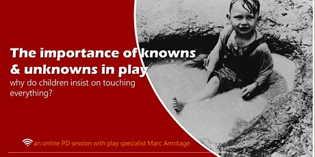The Importance of Knowns & Unknowns in Play: an ONLINE gig only tickets