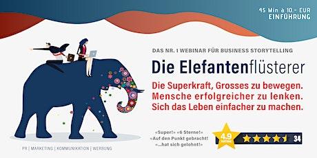 Die Elefantenflüsterer: Einführung Tickets