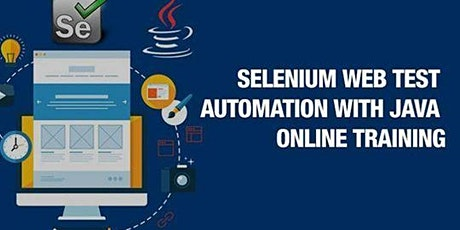 Selenium Web Test Automation With Java  Online Testing tickets
