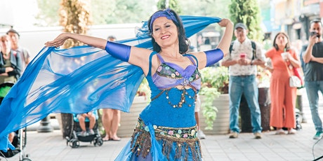 Classic Arabic Belly-Dance! IG LIVE with Noora Dance Theater from Astoria! Tickets