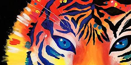 Kids Virtual Painting Party - TigerTiger ingressos