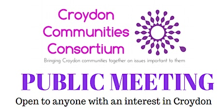 Community Meeting in Croydon via Zoom - 26 May 2020 - open to all tickets