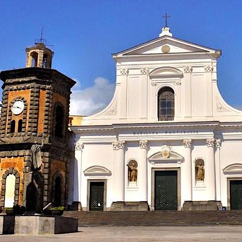 Basilica Pontificia di Santa Croce - T/Greco (NA) logo