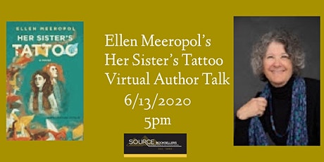 Her Sister's Tattoo Virtual Author Talk  with Ellen Meeropol tickets
